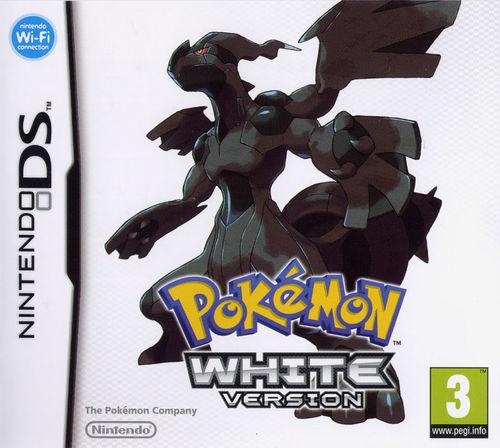 Cover for Pokémon White.