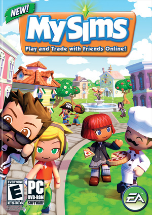 Cover for MySims.