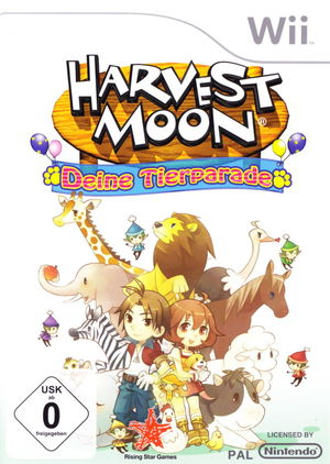 Cover for Harvest Moon: Animal Parade.