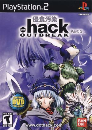 Cover for .hack//Outbreak.