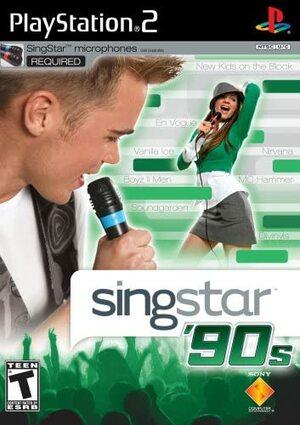 Cover for SingStar '90s.