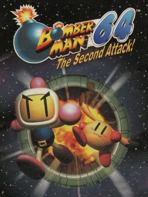 Cover for Bomberman 64: The Second Attack.