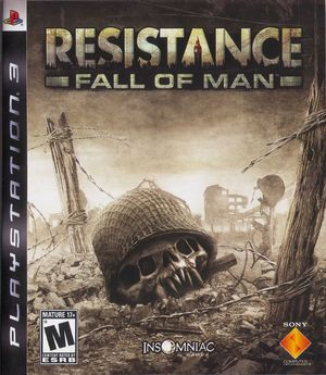 Cover for Resistance: Fall of Man.