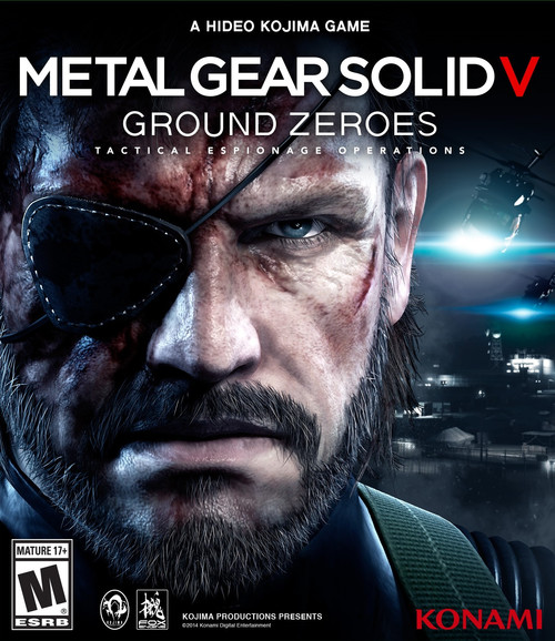 Cover for Metal Gear Solid V: Ground Zeroes.
