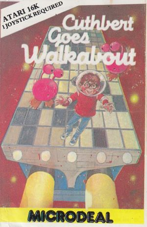 Cover for Cuthbert Goes Walkabout.