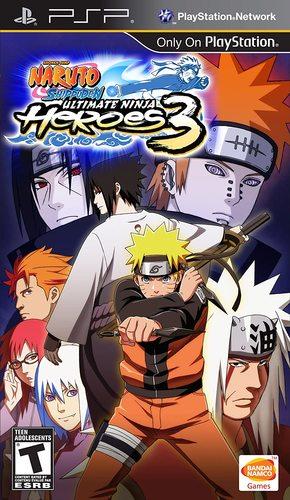Cover for Naruto Shippūden: Ultimate Ninja Heroes 3.