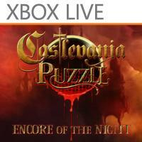 Cover for Castlevania Puzzle: Encore of the Night.