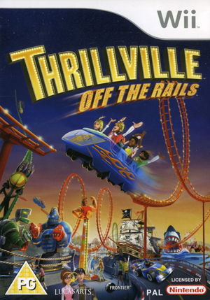 Cover for Thrillville: Off the Rails.