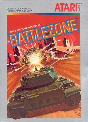 Cover for Battlezone.