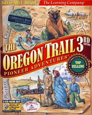 Cover for The Oregon Trail 3rd Edition.