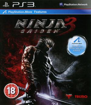 Cover for Ninja Gaiden 3.