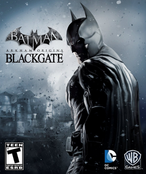 Cover for Batman: Arkham Origins Blackgate.