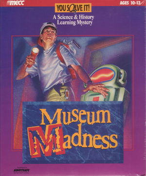 Cover for Museum Madness.