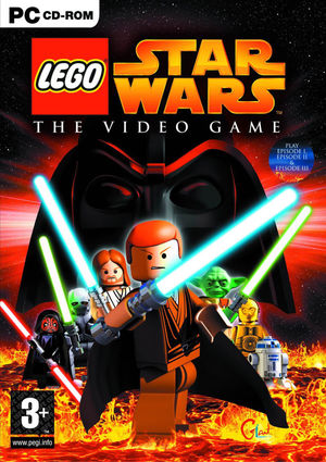 Cover for Lego Star Wars: The Video Game.