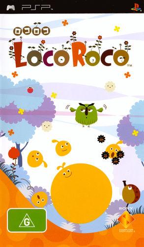 Cover for LocoRoco.
