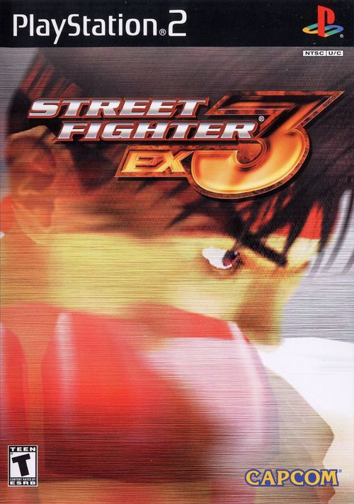 Cover for Street Fighter EX3.