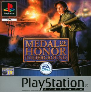 Cover for Medal of Honor: Underground.
