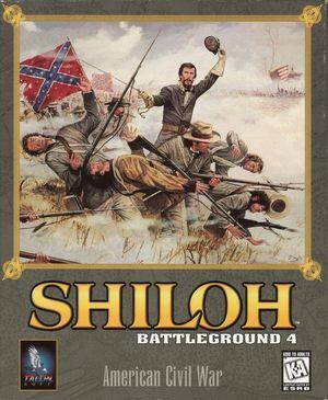 Cover for Battleground 4: Shiloh.