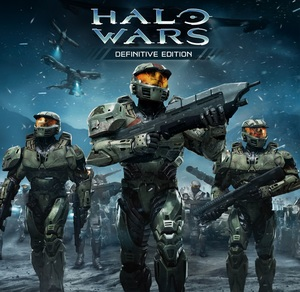Cover for Halo Wars.