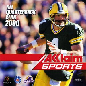 Cover for NFL Quarterback Club 2000.