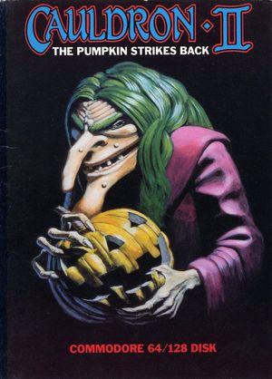 Cover for Cauldron II: The Pumpkin Strikes Back.