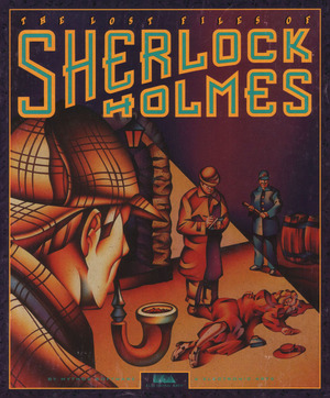 Cover for The Lost Files of Sherlock Holmes: The Case of the Serrated Scalpel.
