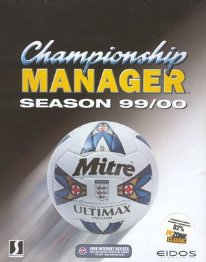 Cover for Championship Manager: Season 99/00.