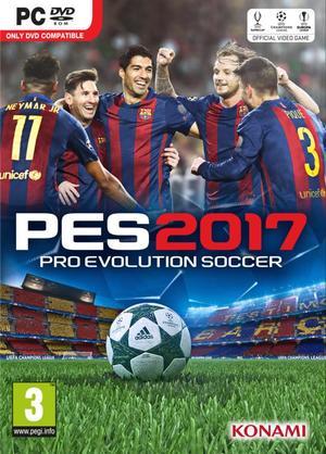 Cover for Pro Evolution Soccer 2017.