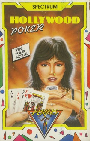 Cover for Hollywood Poker.
