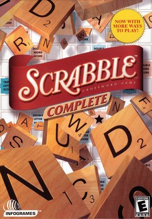 Cover for Scrabble Complete.