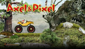 Cover for Axel & Pixel.