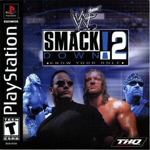 Cover for WWF SmackDown! 2: Know Your Role.