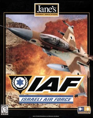 Cover for Jane's IAF: Israeli Air Force.