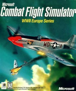 Cover for Combat Flight Simulator WWII Europe Series.