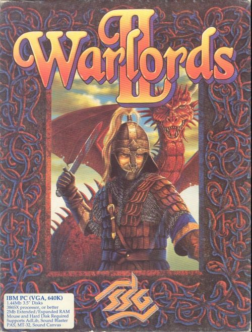 Cover for Warlords II.