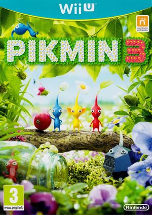Cover for Pikmin 3.