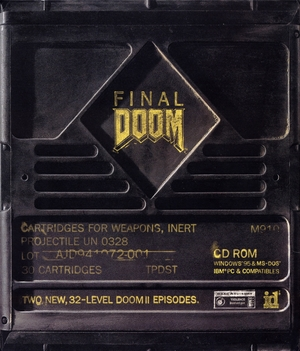 Cover for Final Doom.