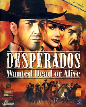 Cover for Desperados: Wanted Dead or Alive.