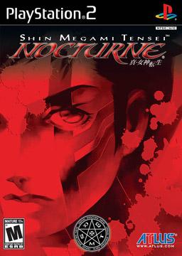 Cover for Shin Megami Tensei: Nocturne.
