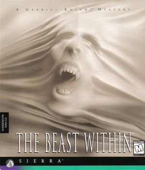 Cover for The Beast Within: A Gabriel Knight Mystery.