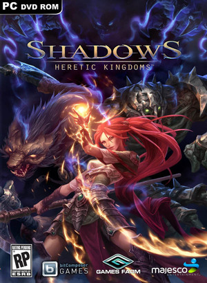 Cover for Shadows: Heretic Kingdoms.