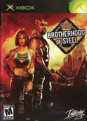 Cover for Fallout: Brotherhood of Steel.