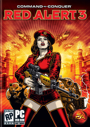 Cover for Command & Conquer: Red Alert 3.