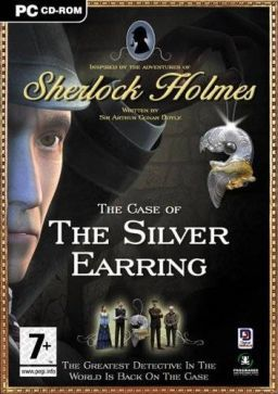 Cover for Sherlock Holmes: The Case of the Silver Earring.
