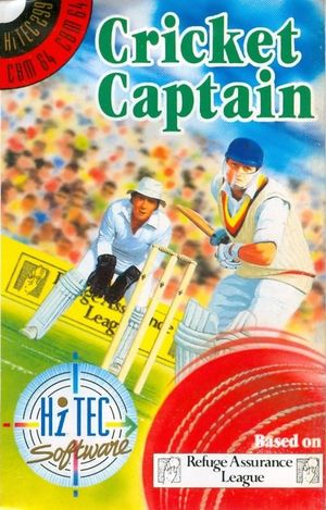 Cover for Cricket Captain.