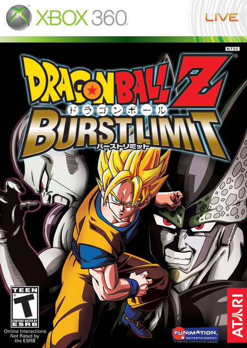 Cover for Dragon Ball Z: Burst Limit.