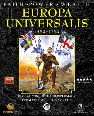 Cover for Europa Universalis.