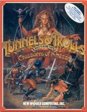 Cover for Tunnels & Trolls: Crusaders of Khazan.