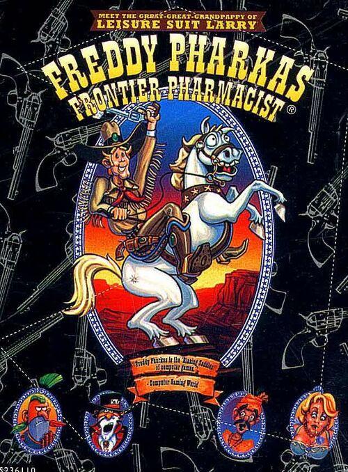 Cover for Freddy Pharkas: Frontier Pharmacist.