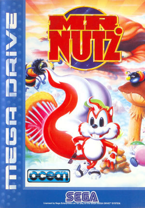 Cover for Mr. Nutz.
